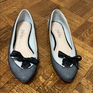 🖤Like new Spanish leather ballet flat shoes.